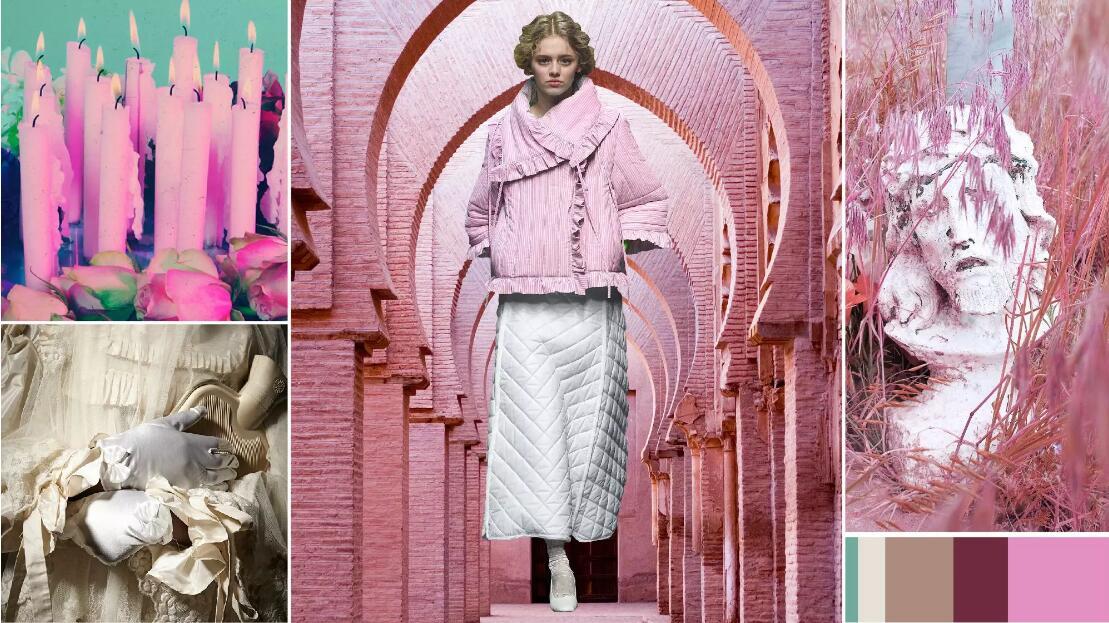 Girly mirage pink