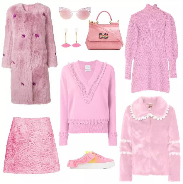 Pink Clothing Match