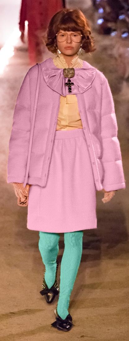 Gucci Pink Coat