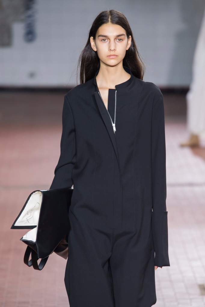 Jil Sander black dress