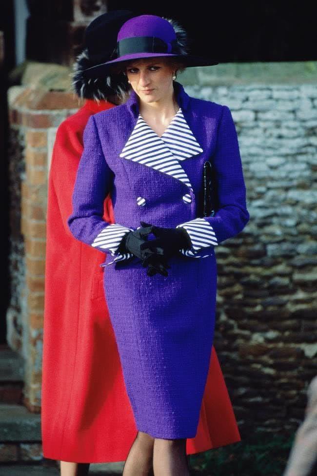 diana's purple style