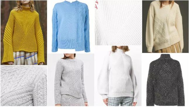 Knitwear Textural Dividing