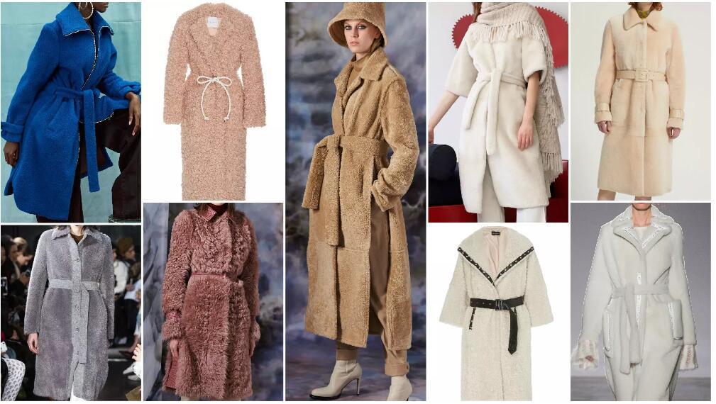 Midi Coats with Waist Belts