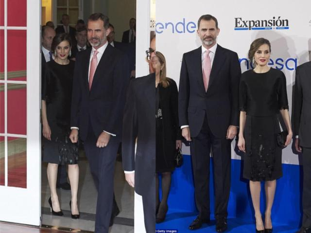 Queen Letizia and her husband