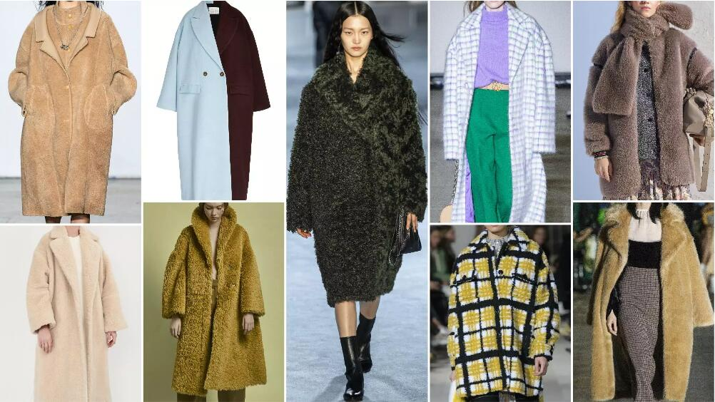 Voluminous Silhouette fashion style fur