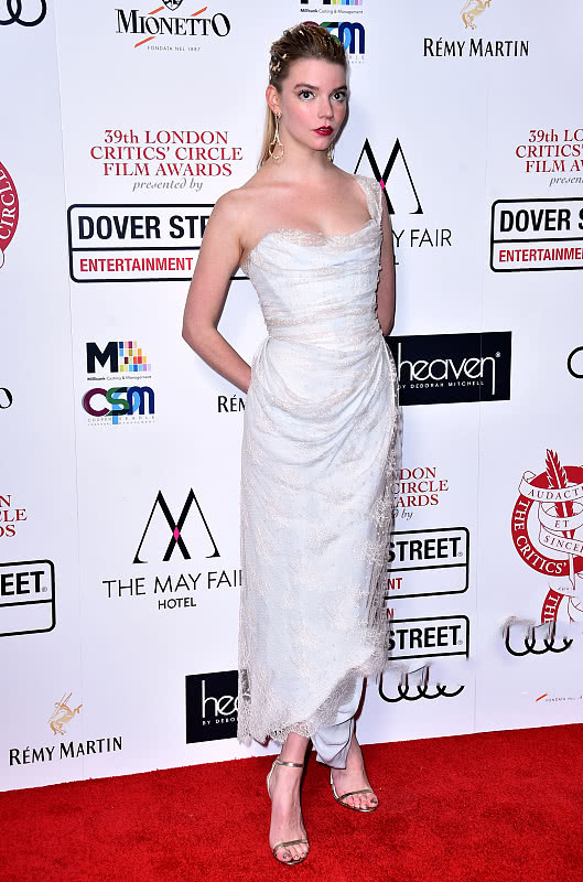 one shoulder fashion white dress