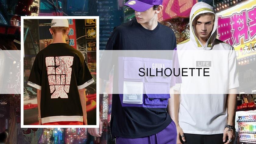 Korean Fashion Trends 2020.2020 Spring Sumemr Men S Fashion T Shirt Silhouette Trend