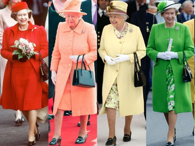British Queen's fashion style