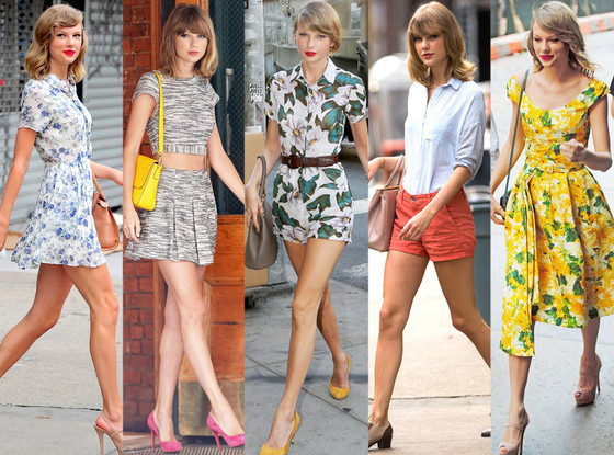 Taylor Swift's fashion style