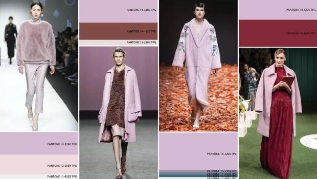 purple color fashion style