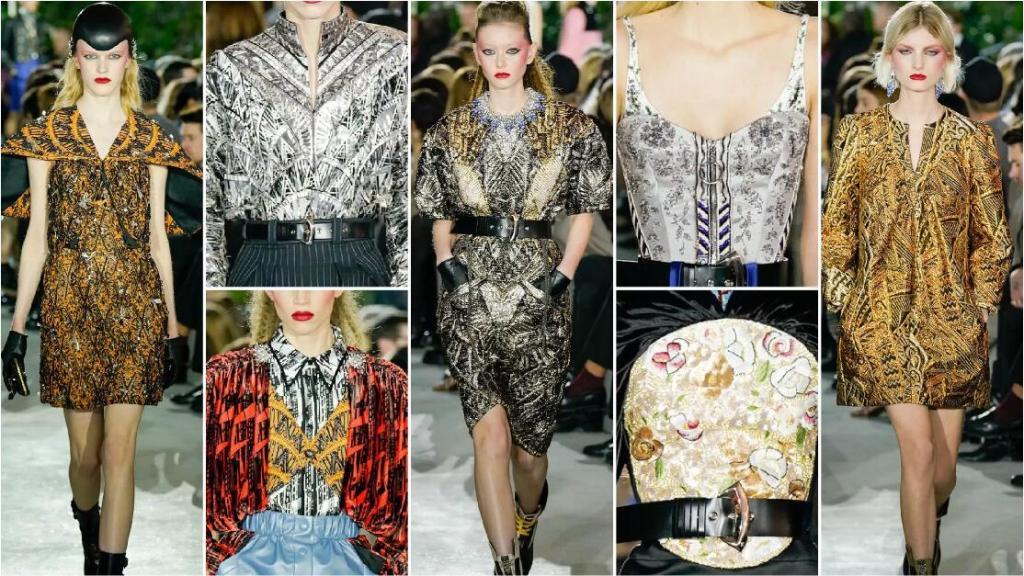vintage lace fashion style