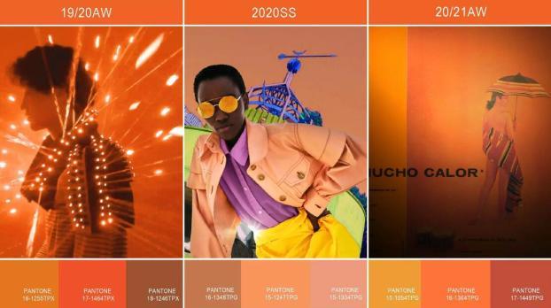 orange trend color