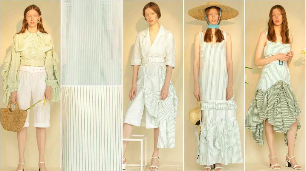 Fine Stripes fashion trend style