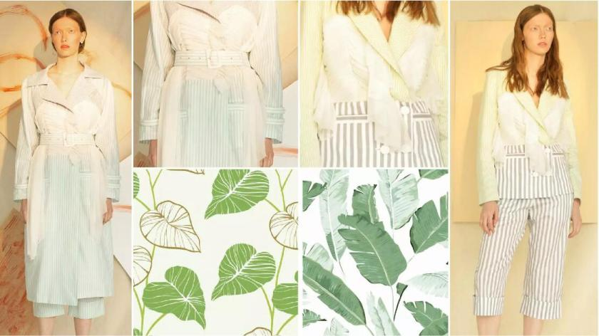 Leaf Pleats fashion trend style