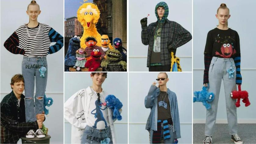 PEACEBIRD x Sesame Street