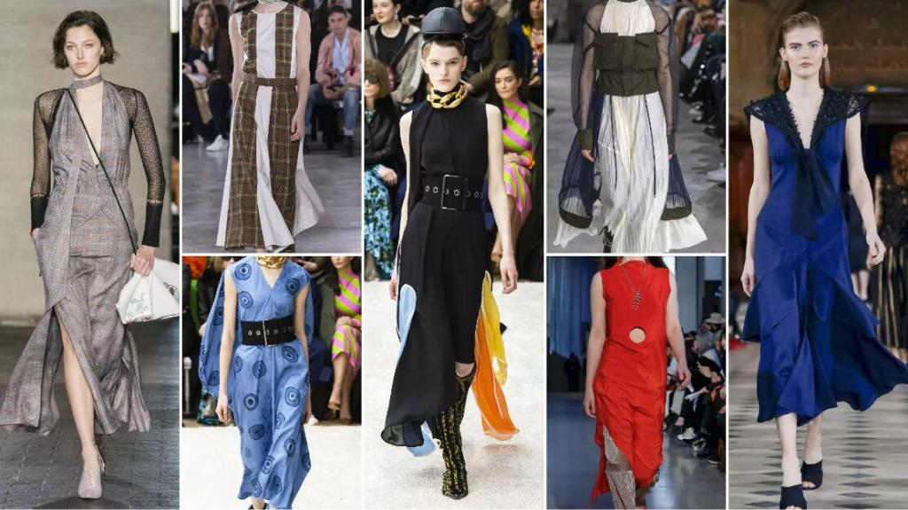 Sleeveless Slim Dresses