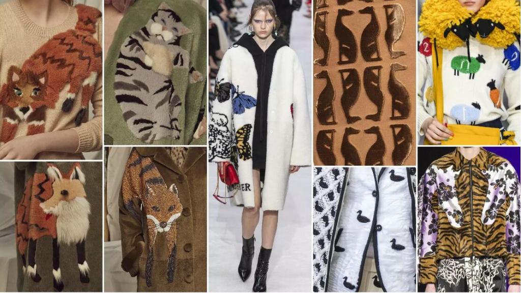 animal fashion style fur