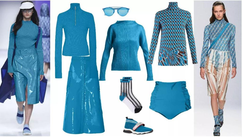 Energy Blue fashion style