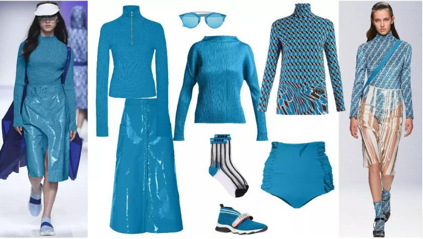 Energy Blue fashion style