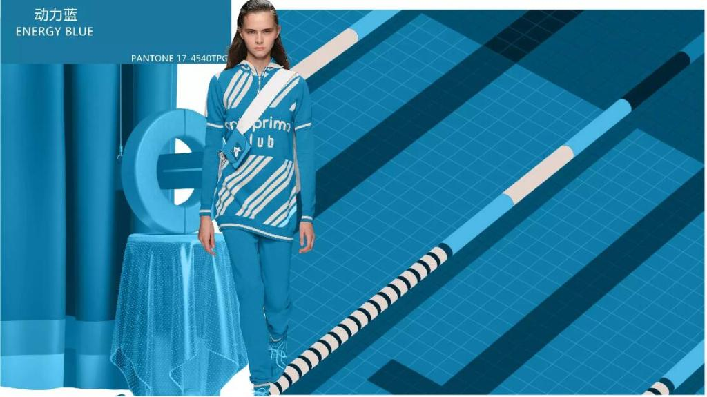 Energy blue style