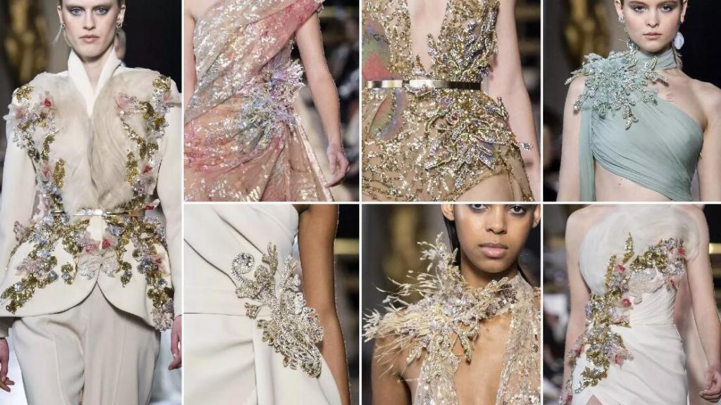 Three-Dimensional Decorations fashion formal dresses