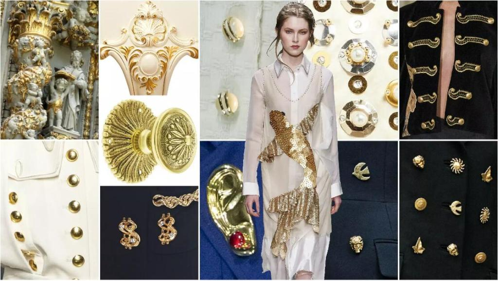Gold Fastenings fashion clothing accessory