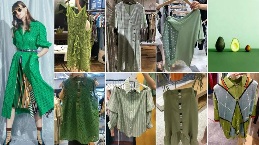 green color style