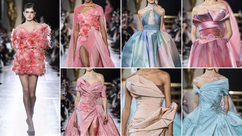 Harmonious Colors fashion formal dresses
