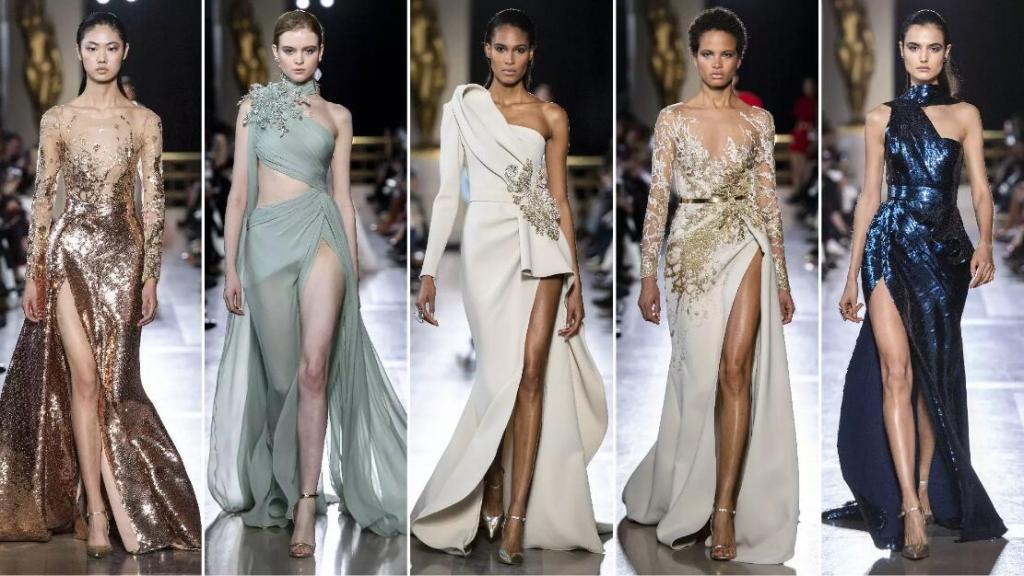 High Split formal dresses