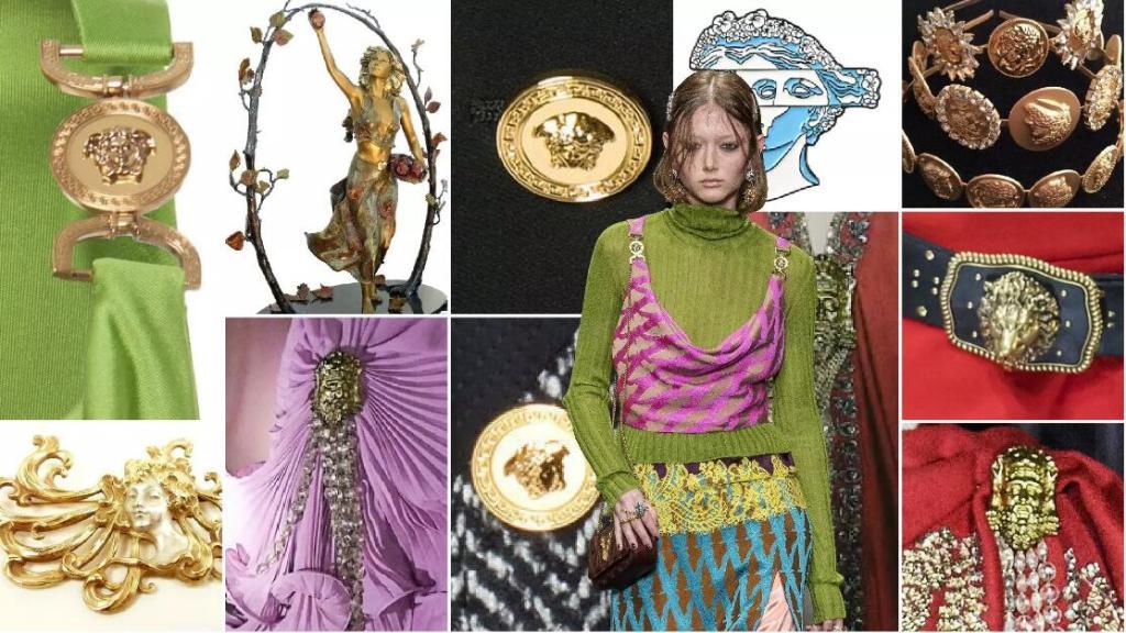Metallic Head Fastenings fashion clothing accessory