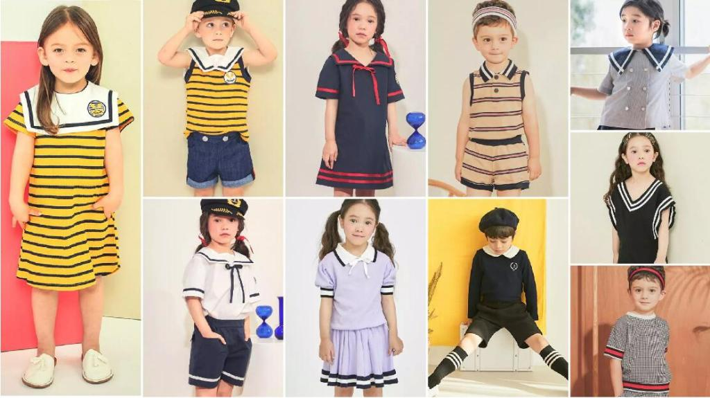 New Prep fashion children's style