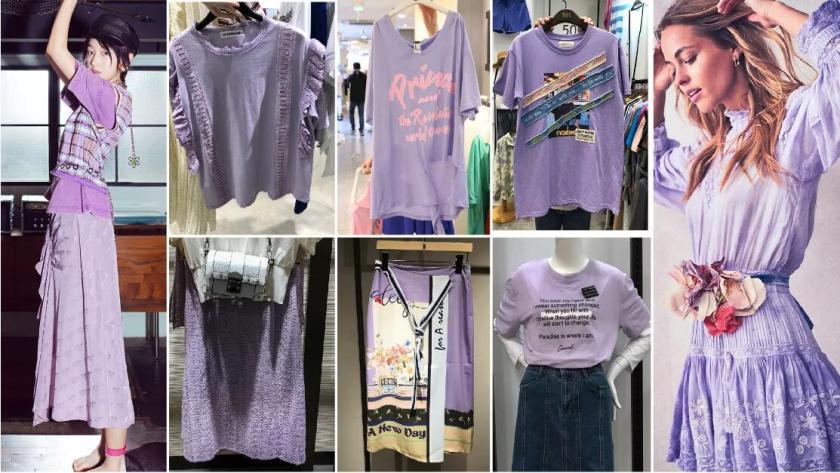pastel purple color style