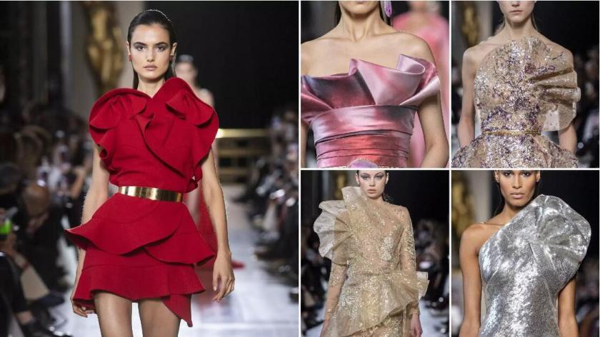 ruffles fashion formal dresses
