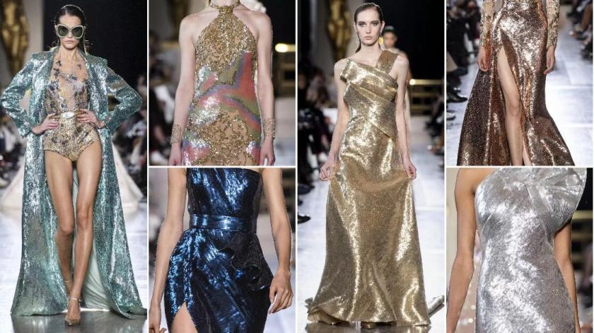 Sequin Fabrics fashion formal dresses
