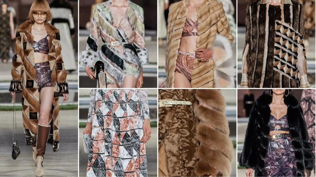 Strip-Cutting Furs