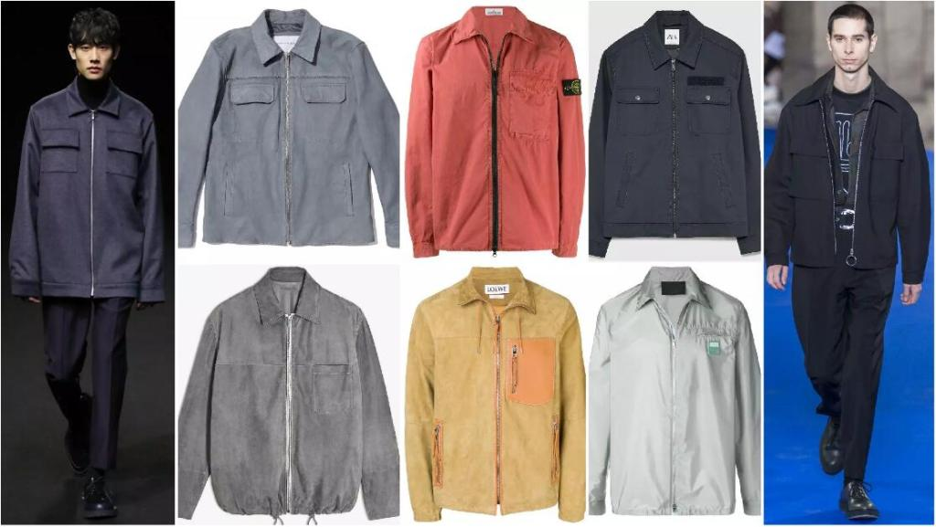 The Boxy Zip-Out Jacket with A Shirt Collar