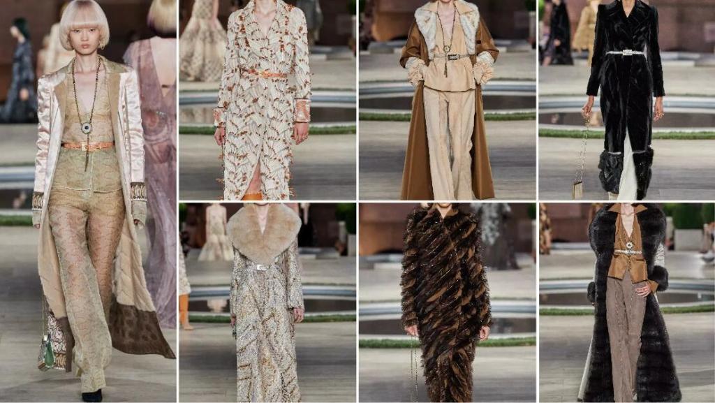 The Floor-Length Fur Coat