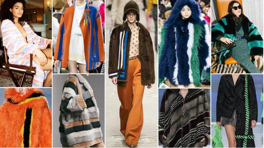 Vibrant Stripes fashion trend style