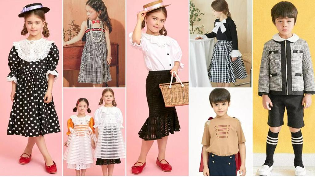vintage fashion children's style