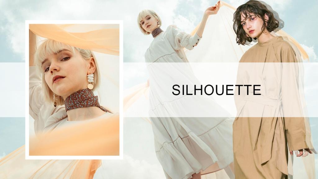 Silhouette Trend for Women's Dresses