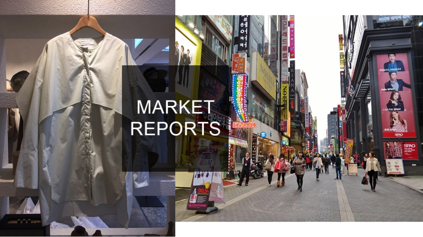 fashion clothing in Korean market