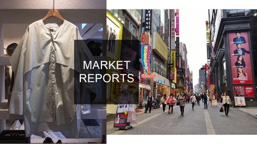 fashion clothing in Korean market