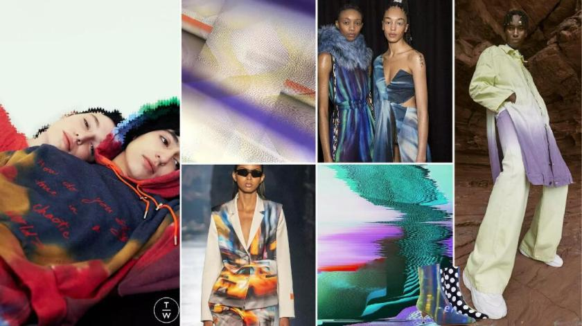 Futuristic Updating -- Technical Tie-Dyed Fabrics