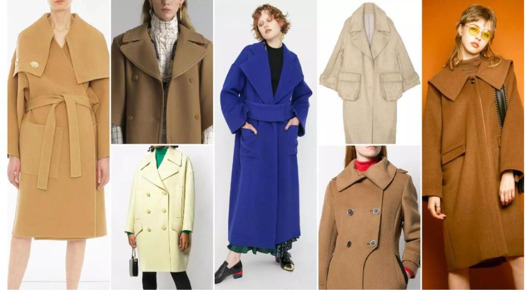Oversized Lapels fashion coat