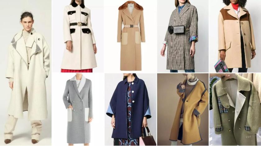 Placement Decorations fahion coat