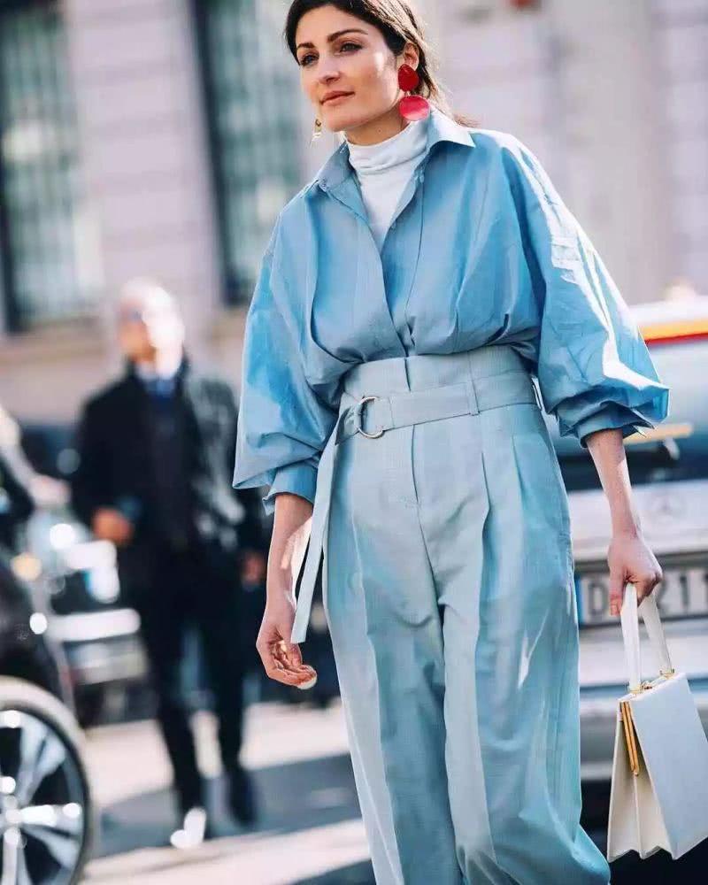 purist blue suit