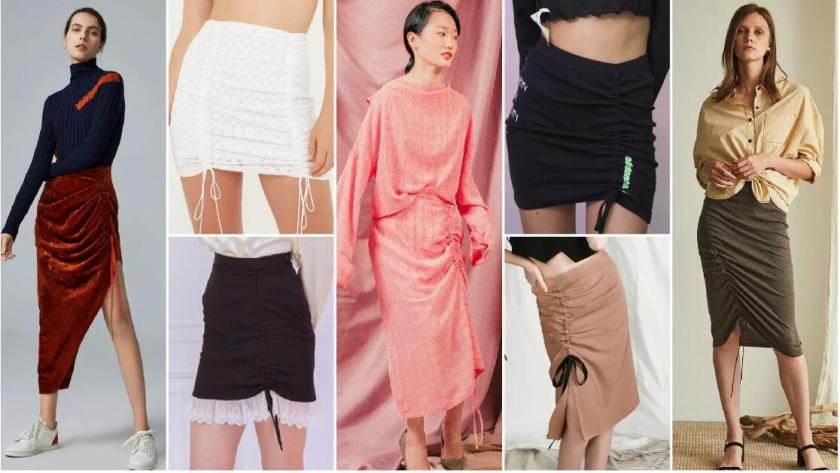 Shirring skirt
