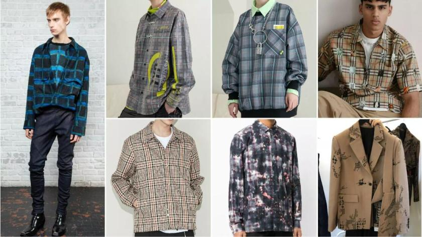 Fall 2020 2021 Fashion Trends.2020 2021 Autumn Winter Chceks Pattern Trend For Menswear