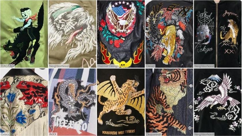 Amekaji Embroidery