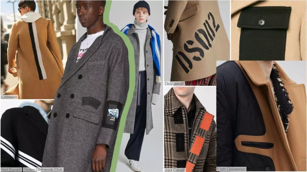 fashion men's coat